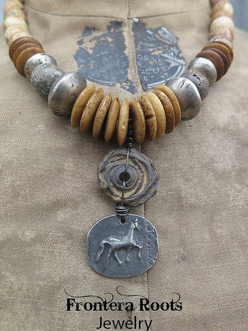 """Timber Ridge"" Necklace"