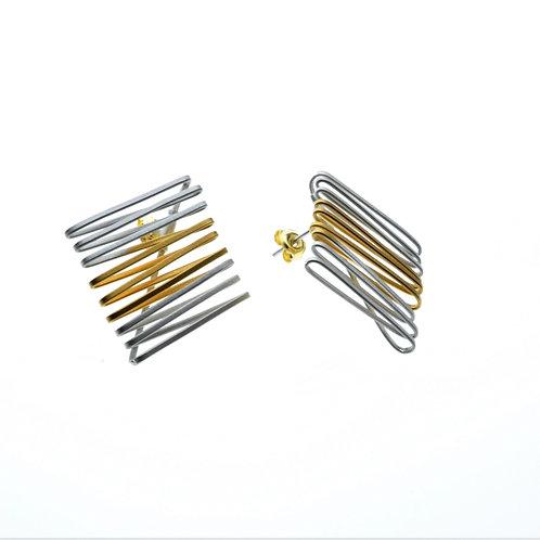 Silver / Gold Post Earrings