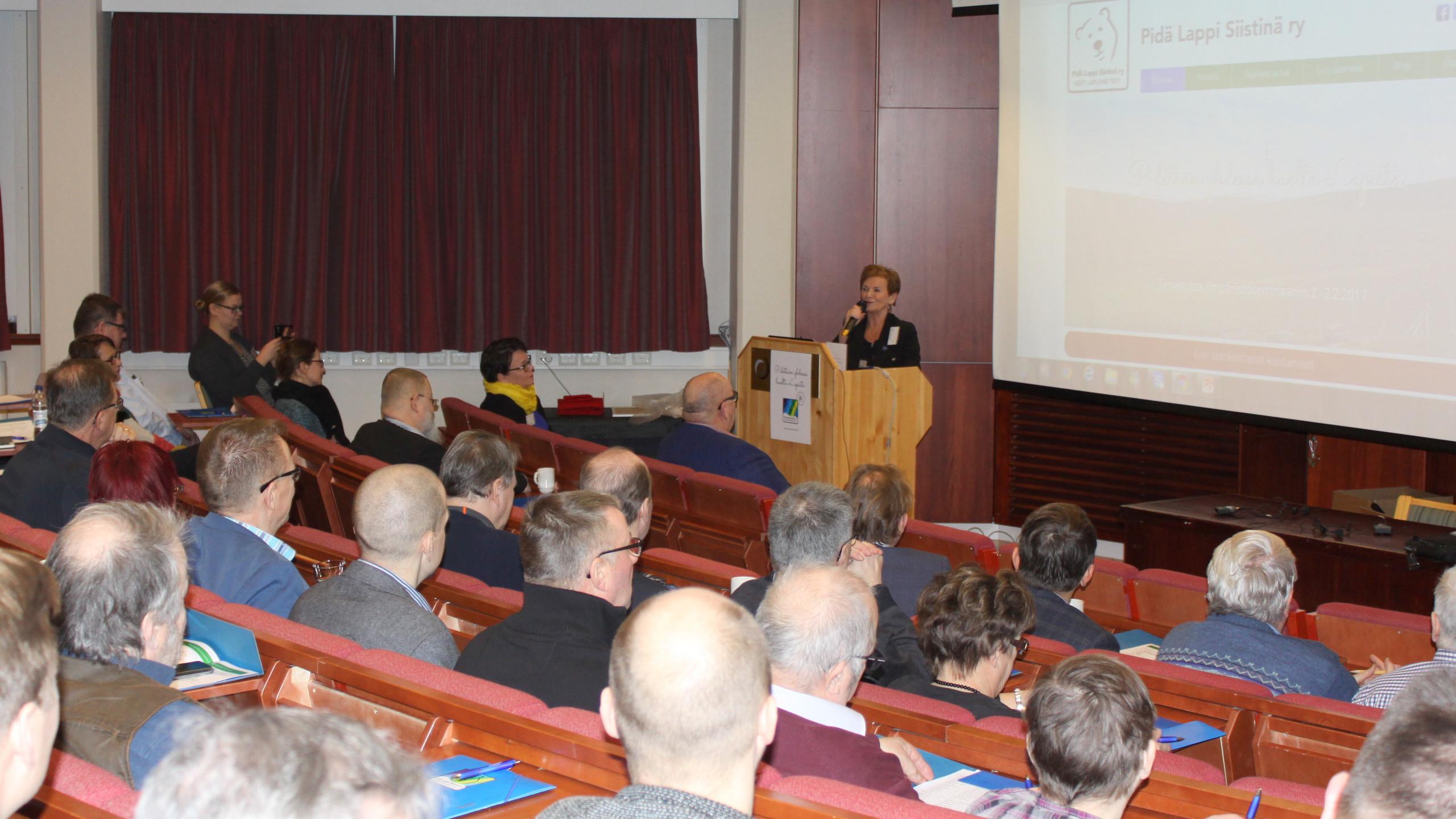 Juhlapuhuja Hannele Pokka
