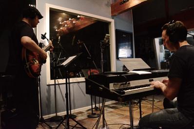 Fudge recording session