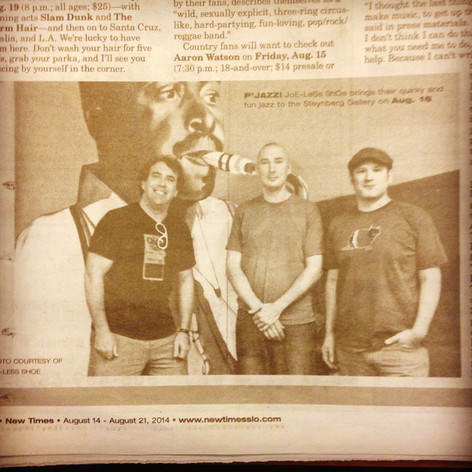 shOe in KC press clip
