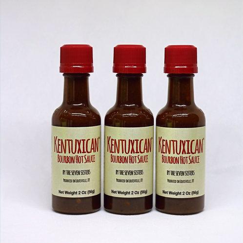 Mini Kentuxican Bourbon Hot Sauce - 3 Pack