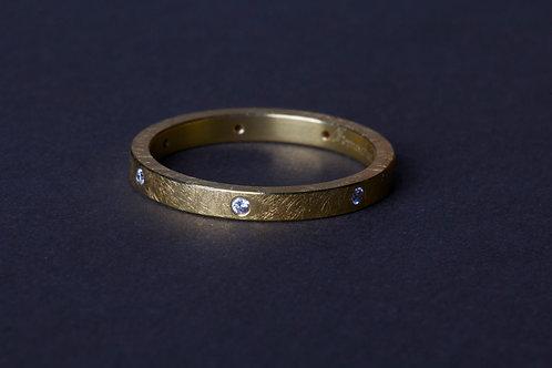 Gold Diamond Ring (01501)