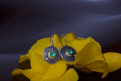 Chrysoprase Earrings (04628)