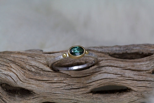 Green Tourmaline Ring (02201)