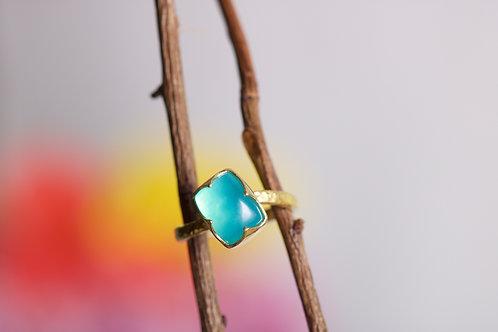 Peruvian Opal Ring (06205)