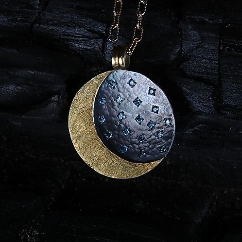 Blue Diamond Pendant (04552)