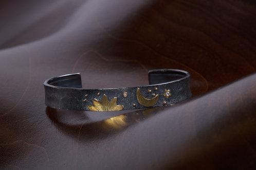 Nature Design Cuff Bracelet (04959)