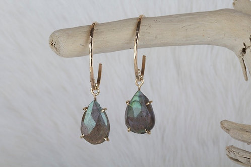 Labradorite Earrings (03169)
