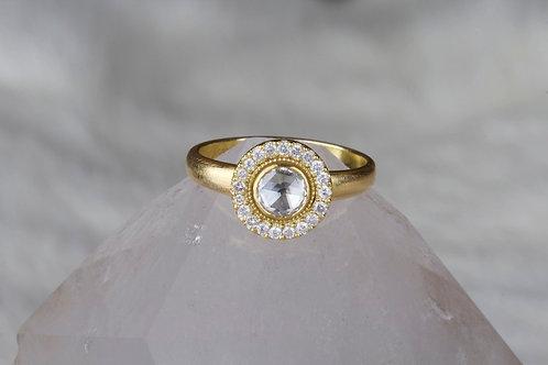 Rose Cut Diamond Ring (05832)