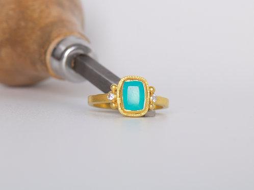 Peruvian Opal Ring (06801)