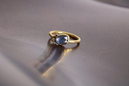 Sapphire and Diamond Ring (05764)