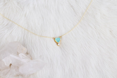 Peruvian Opal Necklace (04226)