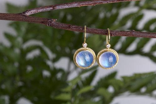 Moonstone Earrings (06581)