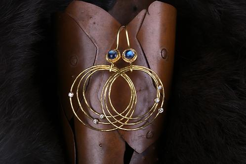 Moonstone Earrings (04533)