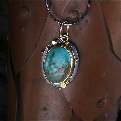 Turquoise Pendant (04547)