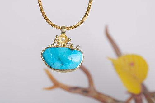 Turquoise Pendant (04659)