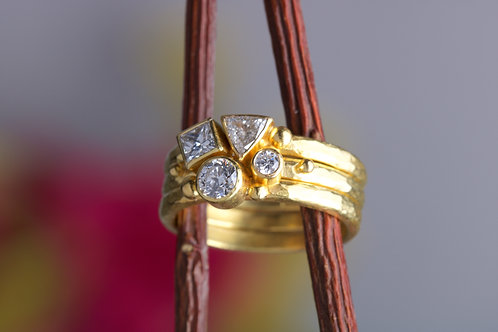 Diamond Stacking Rings (06370)