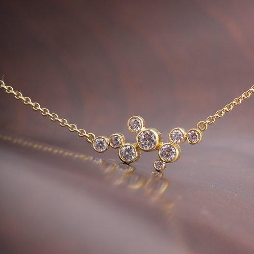 East-West Diamond Necklace (05851)