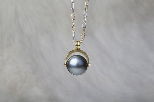 Tahitian Pearl Gold Pendant (01993)