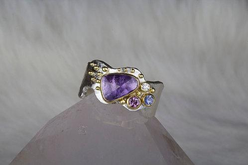 Sapphire Diamond Ring (03067)