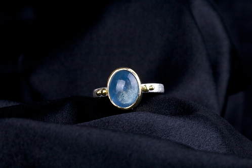 Aquamarine Ring (04474)