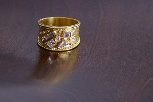 Multi-Cut Diamond Engagement Ring (05765)