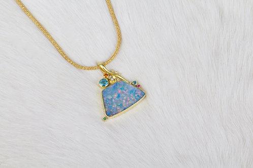 Australian Opal Pendant (03988)