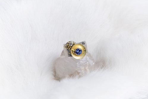 Tanzanite Diamond Ring (03714)