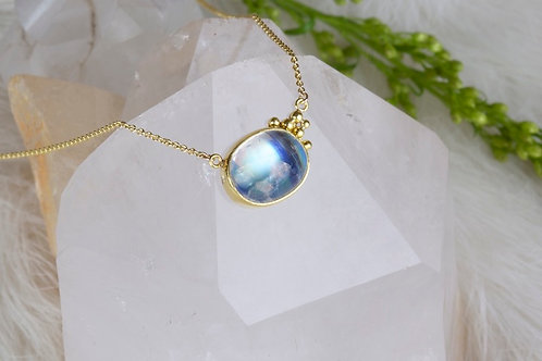Moonstone Necklace (02841)