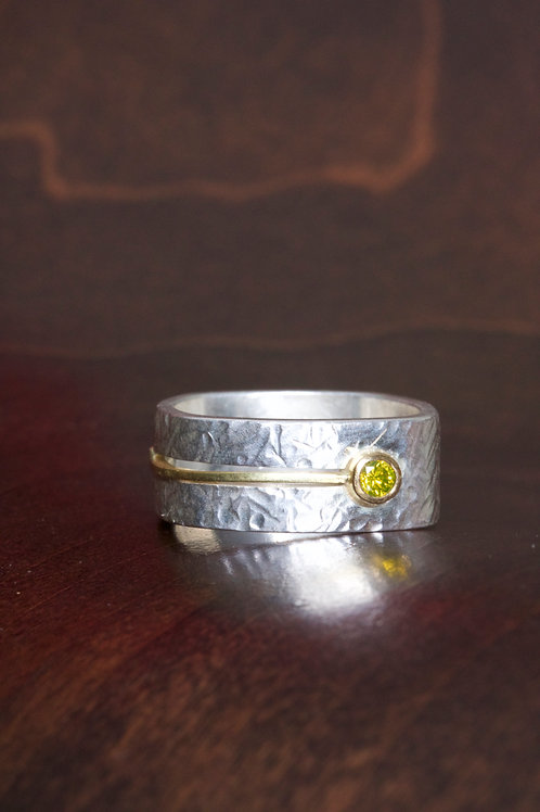 Yellow Diamond Ring (06904)