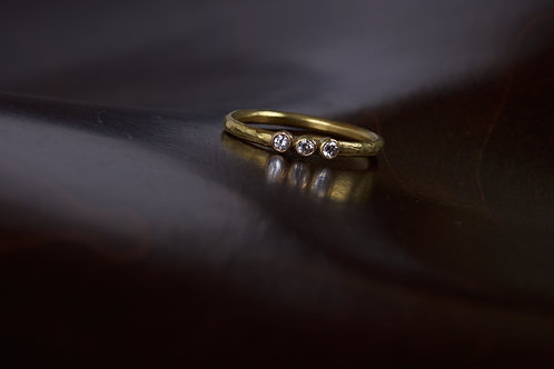 3 Diamond Engagement Ring (04799)
