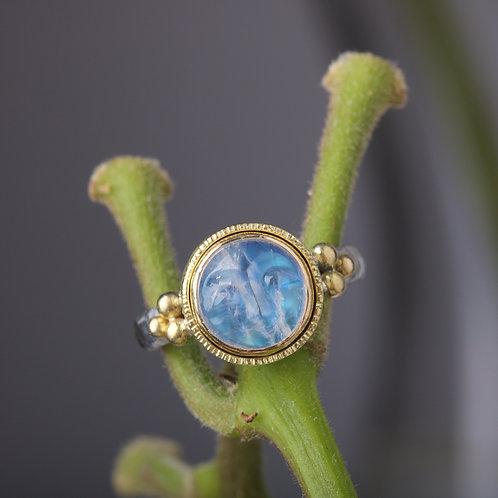 Moonstone Moonface Ring (05892)
