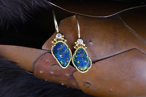 Opal Earrings (04544)