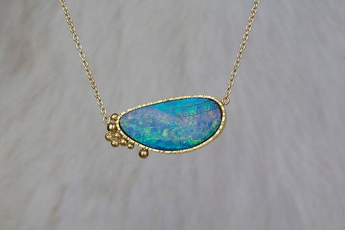Australian Opal Necklace (02831)
