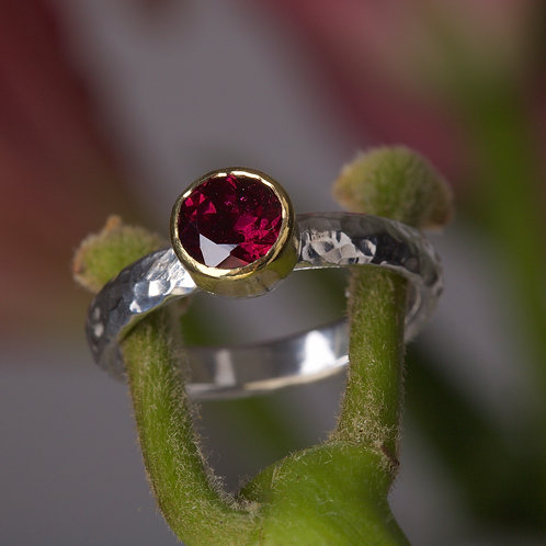 Rhodolite Garnet Stacking Ring (05883)