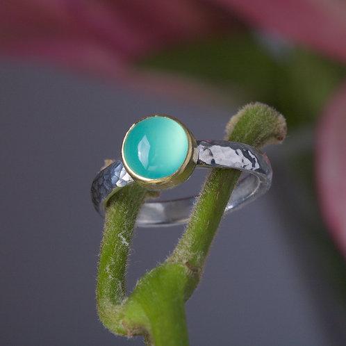Peruvian Opal Stacking Ring (05886)