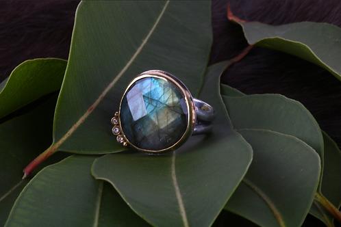 Labradorite Ring (04510)