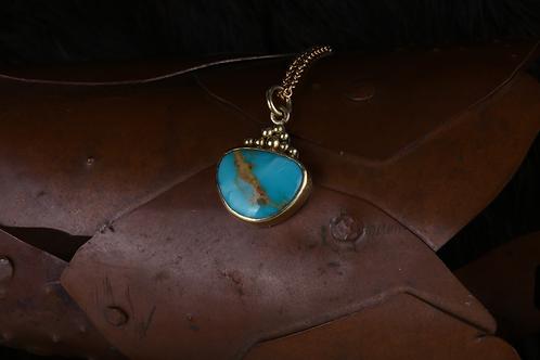 Turquoise Pendant (04545)