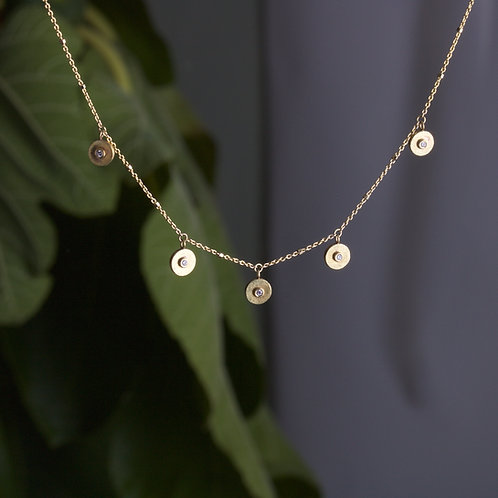 Flat Dish Necklace (06045)