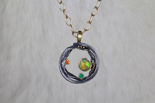 Celestial Precious Stone Pendant (02901)