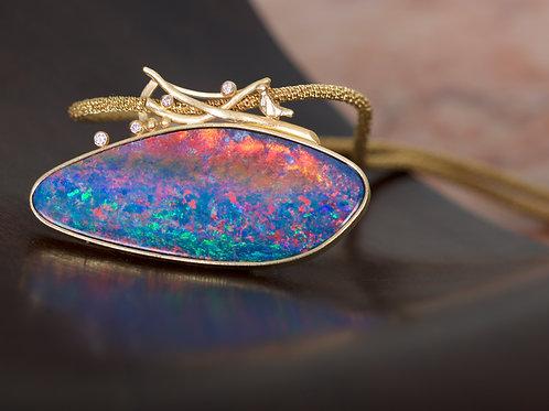 Fiery Opal Pendant (05382)