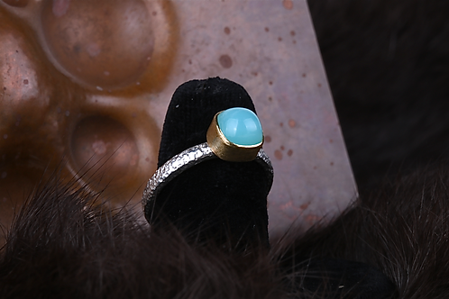 Peruvian Opal Ring (04355)