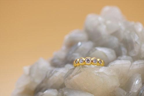 5 Diamond Engagement Ring (06625)
