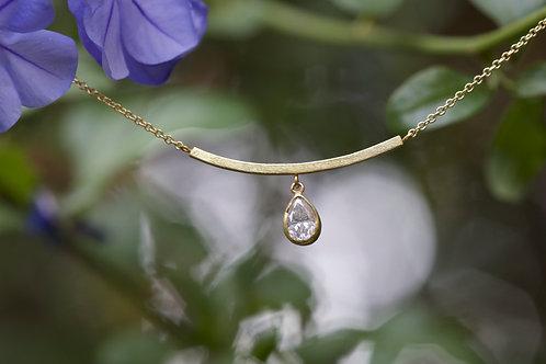 Diamond Drop Necklace (05500)