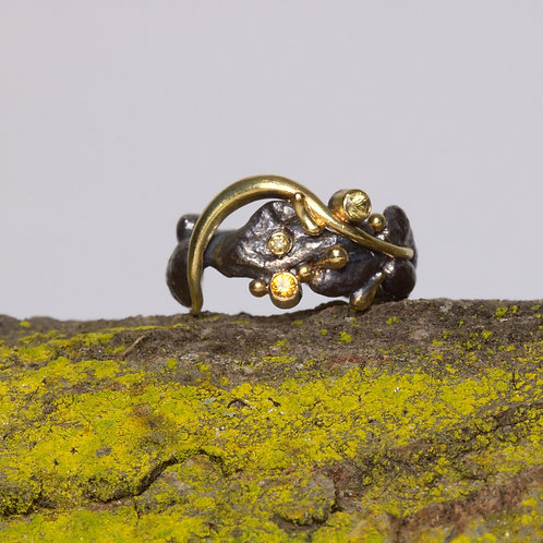 Freeform Silver Ring (06061)