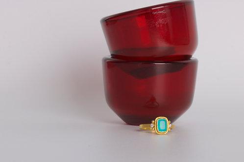 Peruvian Opal Ring (06799)