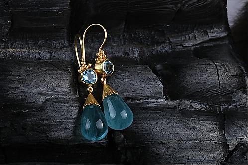 Aquamarine Earrings (04565)