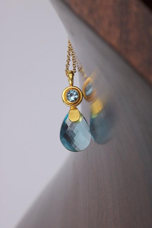 Aquamarine Pendant (05755)