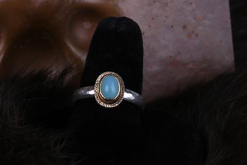 Peruvian Opal Ring (04528)